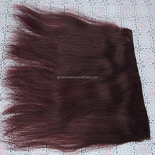 In Stock,1 Piece Silk Straight Fish Line Halo Hair Extensions 100g Brazilian Human Flip In Hair Extension