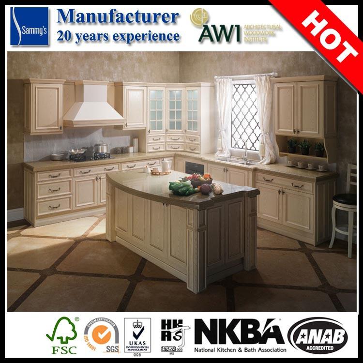 Stile antico armadio da cucina di design a basso costo modulare ...