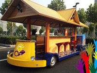 Electric Custom Car / Electric Sightseeing Bus / Sightseeing car 15 seats