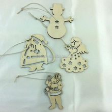laser cut customized snowman ornaments to make