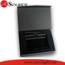 Custom logo black cardboard packing boxes cosmetic boxes art and crafts packaging box