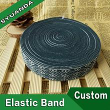 Colorful elastic trimming band