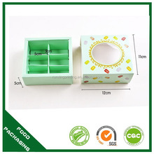 Customized factory direct food grade macaroon box