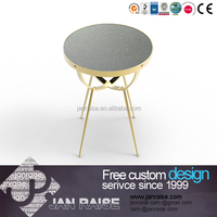 High-end modern furniture oval black glass coffee table , metal legs for coffee table