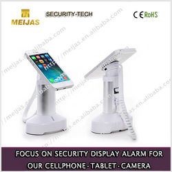 Alarm acrylic anti theft cell phone holder