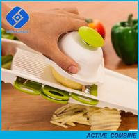 New 5 in 1 Kitchen Tools Vegetable Fruit Slicers Peelers Grater Shredder Cutter