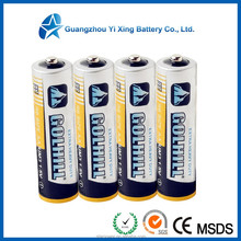 R6 size AA price of dry battery