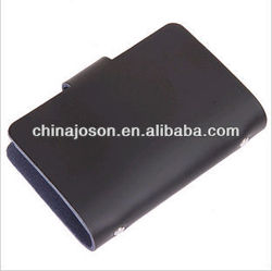 wholesale & promotional PU cover business cardholder with customized logo