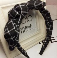chrismas ribbon plaid pattern hair bow holders