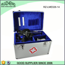 Mini hotel aluminum first aid kit tool box