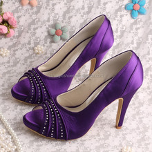 Womens Purple Dress Shoes High Heels