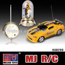 1/63th Mini rc car coke can mini rc car 4 channel high speed small car toys rc