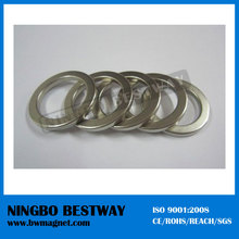 High Performance Strong custom diametrically magnetized Neodymium Ring Magnets for sale