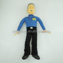 Customized small plastic toy figures,plastic human figure,movable toy figure