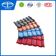 Waterproof Plastic tile cover Synthetic resin roof tile