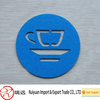 Eco-friendly Circle Customized Felt Cup Mat Made in China for Promotion
