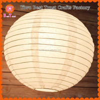 Large 36nch 90cm White Chinese Paper Lampion Lantern For Event Decorations 1000pcs