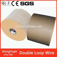 Outside Nylon Well Proportioned , Inner Steel Rigid Double Loop Wire in spool