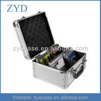 DJ Aluminium CD case, 40 CDs ZYD-CD10