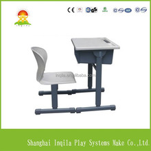 Professional school study desk and chair with CE certificate