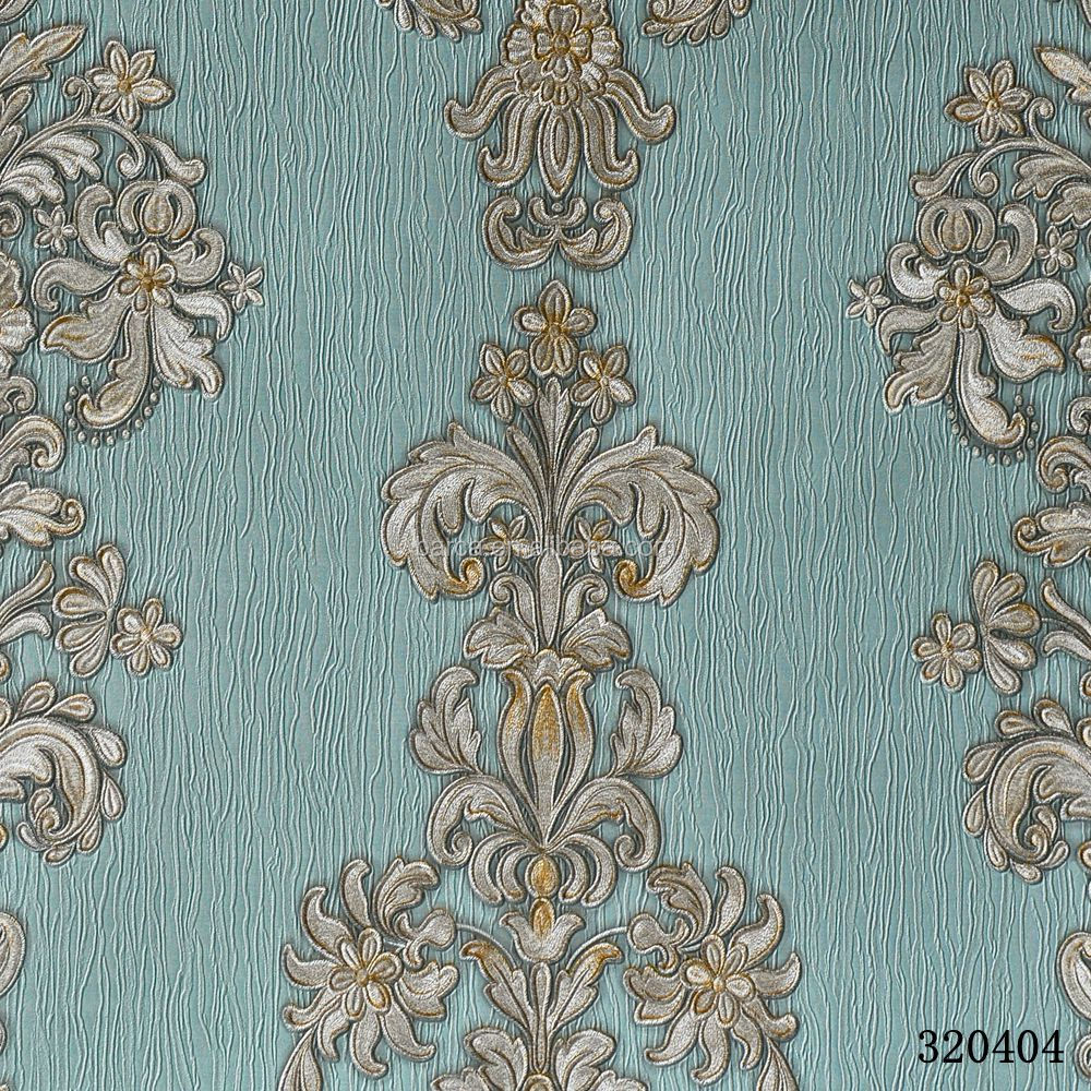 3d Pvc Wallpapers Classic Style Wall Paper For WallRustic Floral