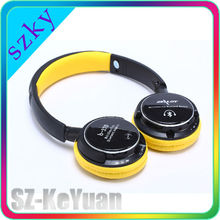 Hot selling B-370 bluetooth stereo headset with communication function, MP3 for SD-TF card, FM radio