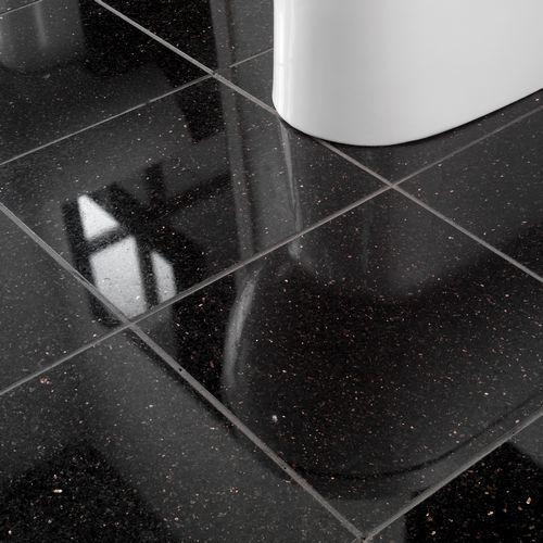 Wonderful 26 Black Sparkle Bathroom Tiles Ideas And Pictures