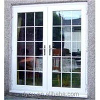 fashionable new style hot sale aluminum front double door designs