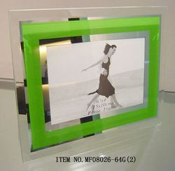 Bright Color float glass louver window frame