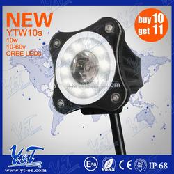 LED 12V 10W Motorcycle Led Lights Bike Rear /Tail / Stop / Brake Light Number Plate Light