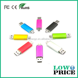 New 2015 hot pendrive otg usb flash drive about 1gb, 2gb to 1tb usb flash drive for gifts