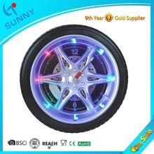Sunny Glow Digital Night Light Antique Gear Wall Clock