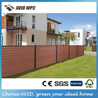 Factory price!! wpc fence/ wpc wood fence/ wpc wood plastic fence