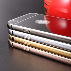 LETSVIEW New Stylish Mirror like Slim Protective Shiny Hard Case Cover Shell for iPhone 5 5S 6 6 plus