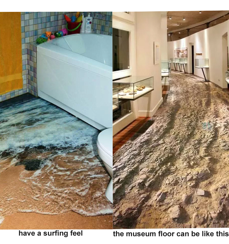 3d Flooring Tile For Bathroom Seaworld Picture Porcelain Wall And
