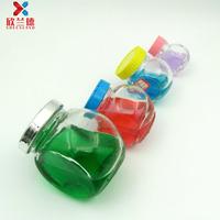 50ml 100ml 150ml 350ml weeding use glass cookie jar glass candy jar with lid