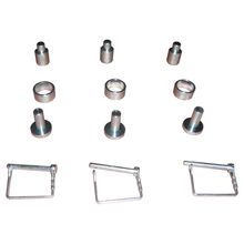 Frameless Mirror Glass Mounting Hardware