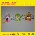 Infantil Brinquedos do bebê, macio Rattle Brinquedos, animais de peluche