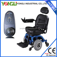 Nanjing supplier of light material electric wheelchair electric wheelchair powered tricycle electric wheelchair motor manufactor