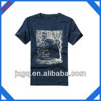 Custom design printed fashion mens wholesale 100% cotton t shirt