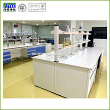 En el aula boilogy mesa de laboratorio/química de laboratorio de banco de mesa con fregadero