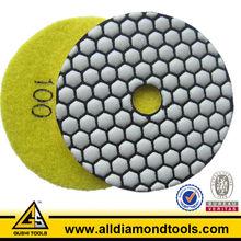 4 Inch Flexible Diamond granite Polishing Pads