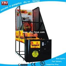 YBJ newest basketball shooting game machine coin operated basketball shoot game machine