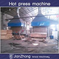 hydraulic wood hot press machine/Hydraulic plywood hot press machine/Plywood machine