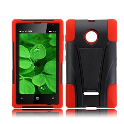 robot case with T kickstand for microsoft Lumia 435