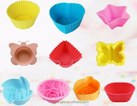 silicone cupcake, cake tin, silicone cupcake cases exquisite bpa free OEM ODM