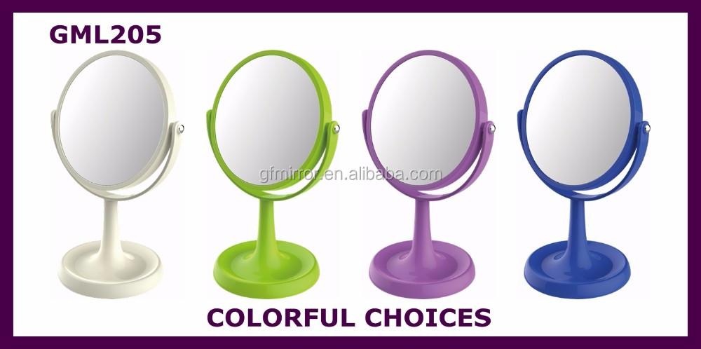 Promotion pas cher ronde rouleau en plastique miroir for Application miroir pc