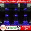 yuegang light fiber optic waterfall light curtain