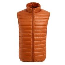 Fashion wholesale winter warm lightweight goose down vest