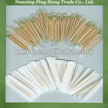 Individually wrapped bamboo toothpick